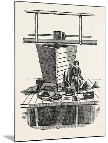 Jigging Machine. Jigging Is the Practice of Fishing with a Jig, a Type of Fishing Lure--Mounted Giclee Print