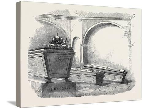 Tomb of Napoleon Ii., in the Imperial Vault, in the Church of the Capuchins, at Vienna--Stretched Canvas Print