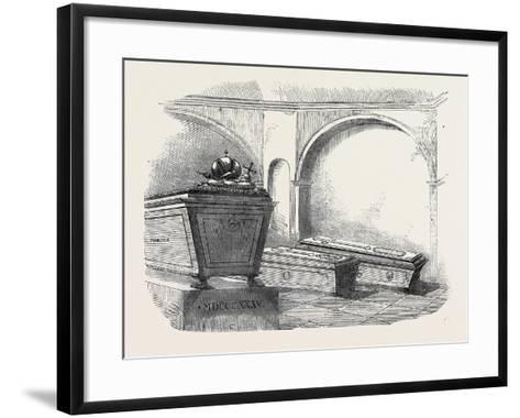 Tomb of Napoleon Ii., in the Imperial Vault, in the Church of the Capuchins, at Vienna--Framed Art Print