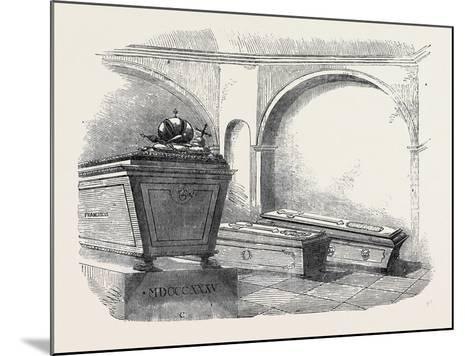 Tomb of Napoleon Ii., in the Imperial Vault, in the Church of the Capuchins, at Vienna--Mounted Giclee Print