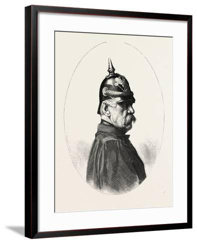 Franco-Prussian War: Graf Von Roon, 1803-1879, Minister of War in Prussia, 1859 - 1879--Framed Art Print