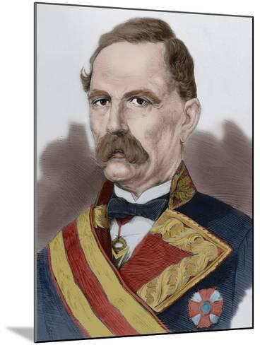 Manuel De La Serna Hernandez Pinzon (1804-1878)--Mounted Giclee Print