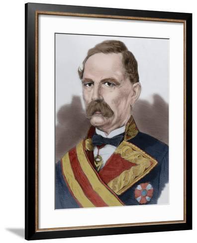 Manuel De La Serna Hernandez Pinzon (1804-1878)--Framed Art Print