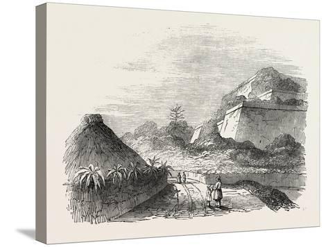 Shuidi, the Capital of Loo Choo, Chinese Seas, Loo-Choo Islands, Ryukyu Islands, 1851--Stretched Canvas Print