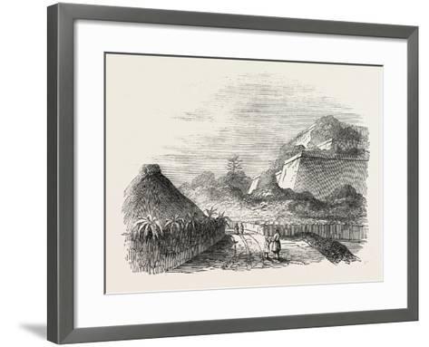 Shuidi, the Capital of Loo Choo, Chinese Seas, Loo-Choo Islands, Ryukyu Islands, 1851--Framed Art Print