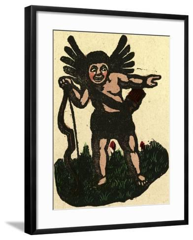 Illustration of English Tales Folk Tales and Ballads. an Angel with an Arrow--Framed Art Print