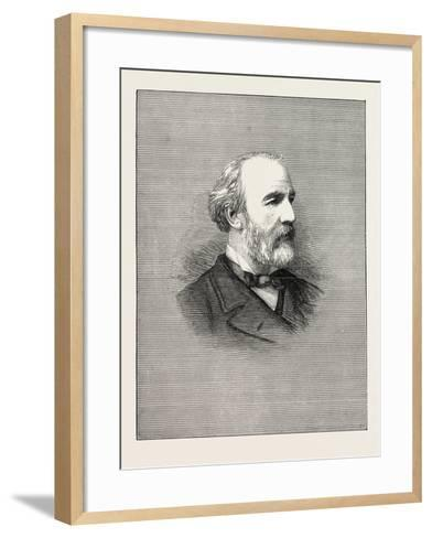 The Opening of Parliament: Marquis of Tweeddale Mover in the House of Lords--Framed Art Print