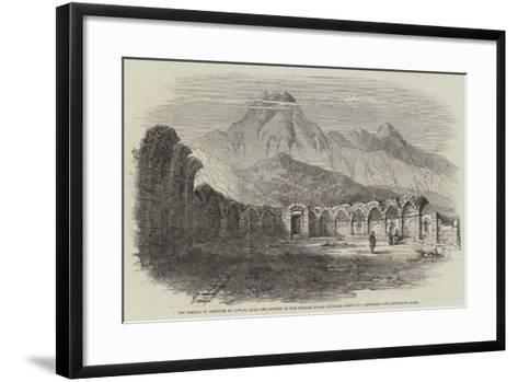 The Temple of Neptune at Zowan, Near the Source of the Stream Which Supplied Water to Carthage--Framed Art Print