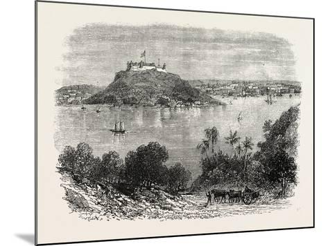 Havannah Harbour, Showing Where the Fifty Invaders Were Shot, 1870S--Mounted Giclee Print