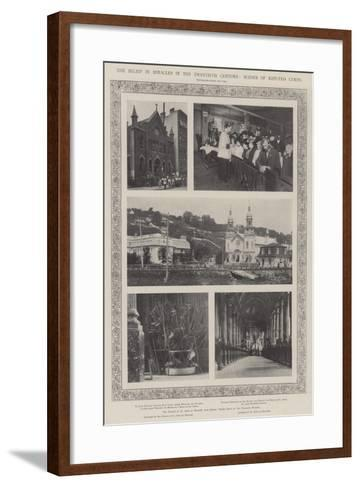 The Belief in Miracles in the Twentieth Century, Scenes of Reputed Cures--Framed Art Print