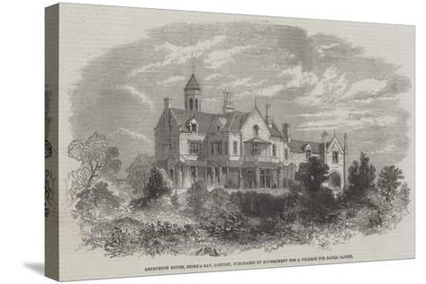 Ashburton House, Stoke's Bay, Gosport, Purchased by Government for a College for Naval Cadets--Stretched Canvas Print