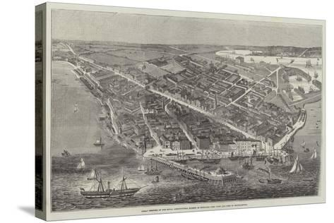 Great Meeting of the Royal Agricultural Society of England, the Town and Port of Southampton--Stretched Canvas Print