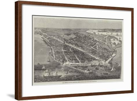 Great Meeting of the Royal Agricultural Society of England, the Town and Port of Southampton--Framed Art Print