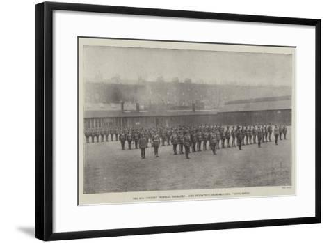 The 67th Company Imperial Yeomanry, Lord Dunraven's Sharpshooters, Going South--Framed Art Print