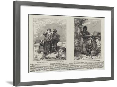 Pictures at the Exhibitions of the National Institution and the Society of British Artists--Framed Art Print