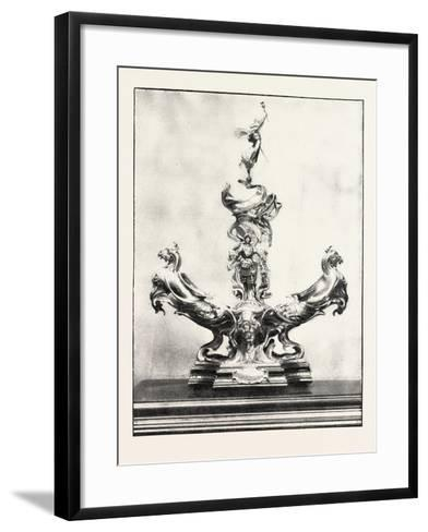 The Officers Jubilee Memorial, One Side of the Centrepiece, 1890, UK--Framed Art Print