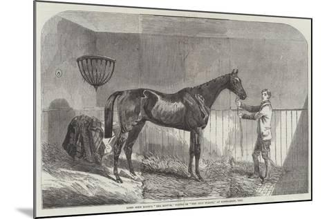 Lord John Scott's The Reiver, Winner of The July Stakes, at Newmarket, 1852--Mounted Giclee Print