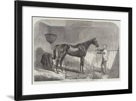 Lord John Scott's The Reiver, Winner of The July Stakes, at Newmarket, 1852--Framed Art Print