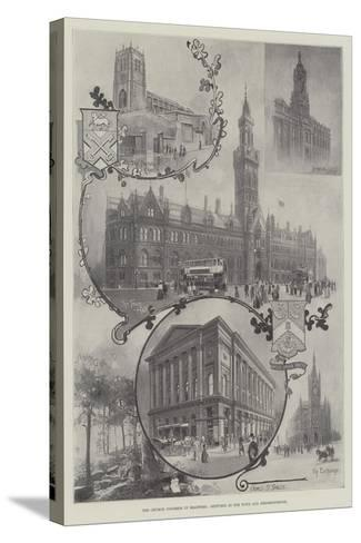 The Church Congress in Bradford, Sketches in the Town and Neighbourhood--Stretched Canvas Print