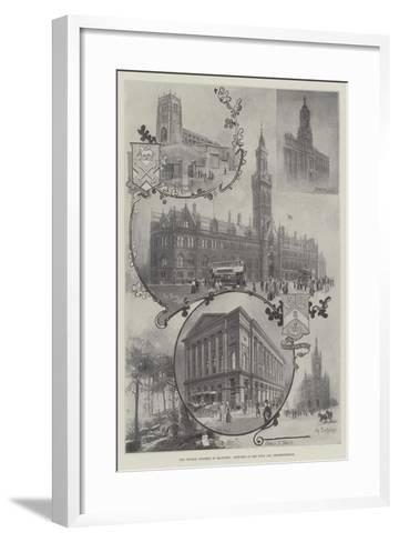 The Church Congress in Bradford, Sketches in the Town and Neighbourhood--Framed Art Print