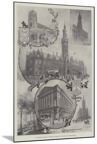 The Church Congress in Bradford, Sketches in the Town and Neighbourhood--Mounted Giclee Print