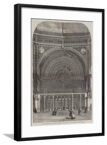 The International Exhibition Building, West Portion of the Western Dome--Framed Art Print