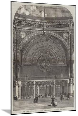 The International Exhibition Building, West Portion of the Western Dome--Mounted Giclee Print