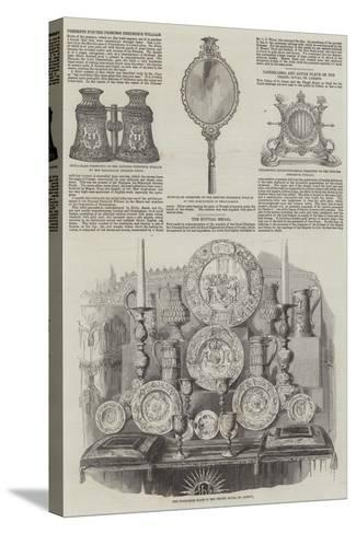Royal Wedding of Victoria, Princess Royal, and Frederick III of Germany--Stretched Canvas Print