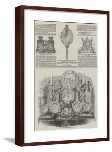 Royal Wedding of Victoria, Princess Royal, and Frederick III of Germany--Framed Art Print