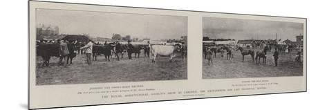 The Royal Agricultural Society's Show at Carlisle, the Sixty-Fourth and Last Provincial Meeting--Mounted Giclee Print
