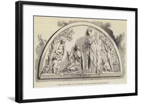 Spring and Autumn, by F J Williamson, from the Late Royal Academy Exhibition--Framed Art Print