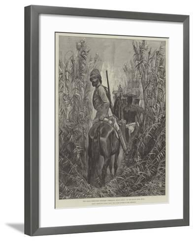 The Anglo-Portuguese Boundary Commission, South Africa, on the March from Beira--Framed Art Print