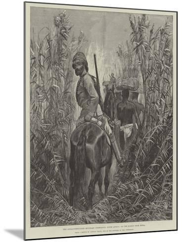 The Anglo-Portuguese Boundary Commission, South Africa, on the March from Beira--Mounted Giclee Print