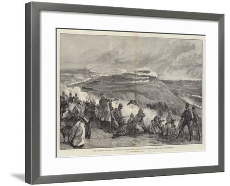 The Easter Monday Volunteer Manoeuvres, Capture of Caesar's Camp, Near Folkestone--Framed Art Print