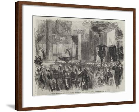 Fete at Grosvenor-House, on Monday, in Aid of the Funds of The Hospital for Women, in Soho-Square--Framed Art Print