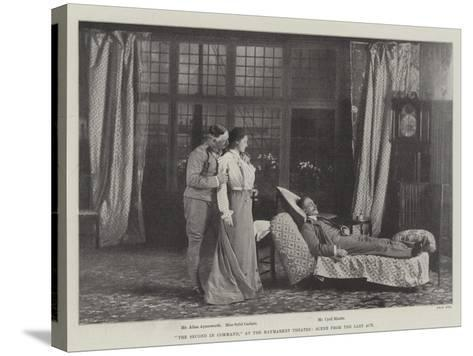 The Second in Command, at the Haymarket Theatre, Scene from the Last Act--Stretched Canvas Print