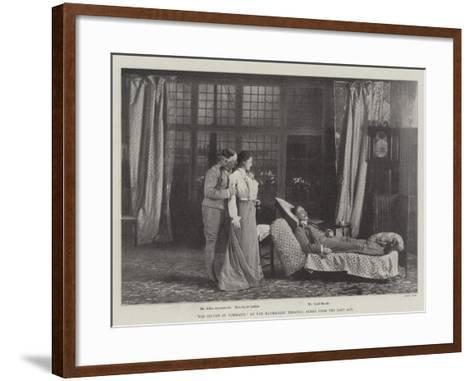The Second in Command, at the Haymarket Theatre, Scene from the Last Act--Framed Art Print
