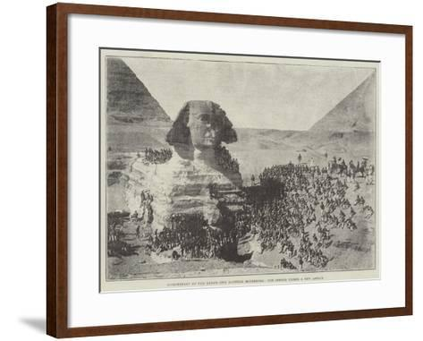 Bicentenary of the King's Own Scottish Borderers, the Sphinx under a New Aspect--Framed Art Print