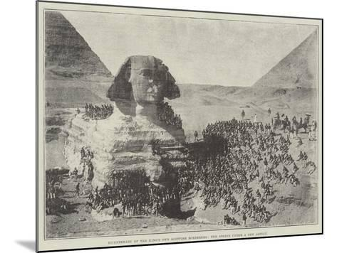 Bicentenary of the King's Own Scottish Borderers, the Sphinx under a New Aspect--Mounted Giclee Print