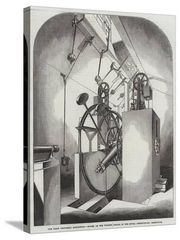 The Paris Universal Exhibition, Model of the Transit Circle in the Royal Observatory, Greenwich--Stretched Canvas Print