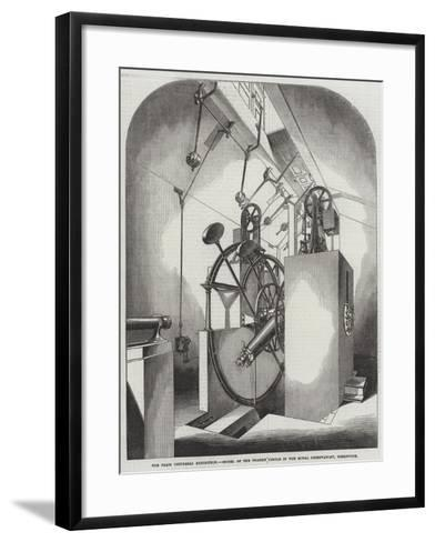 The Paris Universal Exhibition, Model of the Transit Circle in the Royal Observatory, Greenwich--Framed Art Print