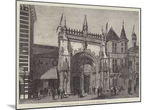The Paris Exhibition, Facade of the Portuguese Section, Avenue of Nations--Mounted Giclee Print