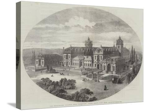 The Wellington College, Near Sandhurst, South Front, John Shaw, Architect--Stretched Canvas Print