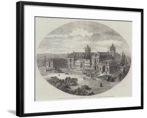 The Wellington College, Near Sandhurst, South Front, John Shaw, Architect--Framed Art Print