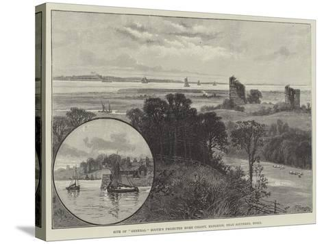 Site of General Booth's Projected Home Colony, Hadleigh, Near Southend, Essex--Stretched Canvas Print
