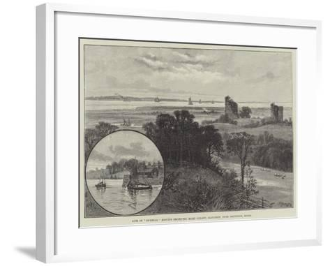 Site of General Booth's Projected Home Colony, Hadleigh, Near Southend, Essex--Framed Art Print