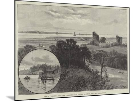 Site of General Booth's Projected Home Colony, Hadleigh, Near Southend, Essex--Mounted Giclee Print