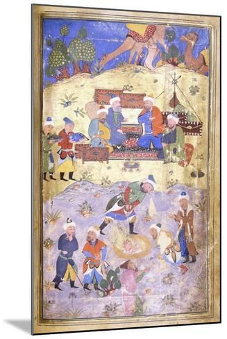Yusuf Being Rescued from the Pit, C.1492-3 (Illuminated Manuscript on Paper)--Mounted Giclee Print