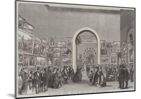 The International Exhibition, View of the Picture-Gallery, Looking East--Mounted Giclee Print