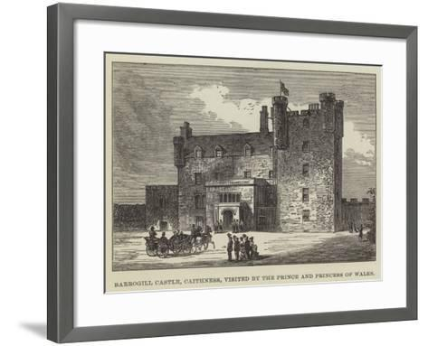 Barrogill Castle, Caithness, Visited by the Prince and Princess of Wales--Framed Art Print